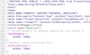 HTML Mobile Emails and CSS Media Queries